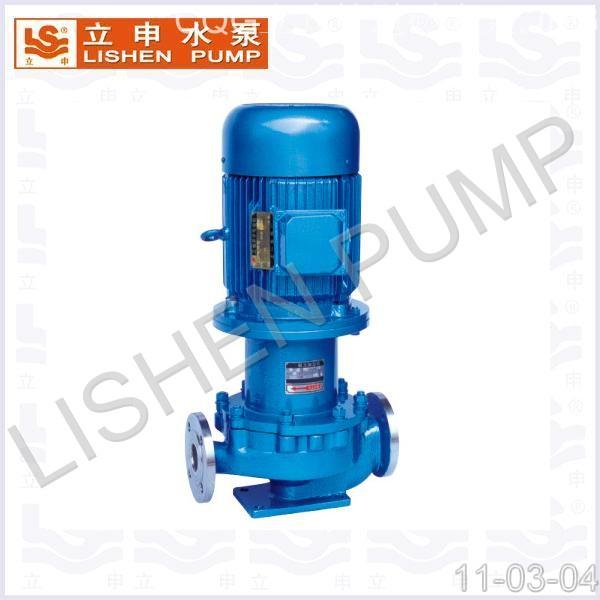CQL型不锈钢立式管道磁力泵